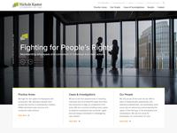 Nichols Kaster Website Redesign