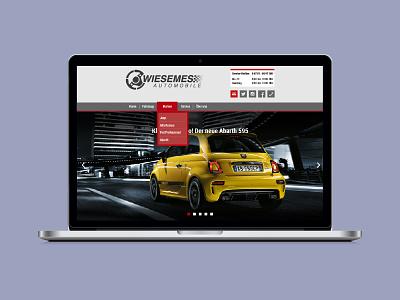 Wiesemes Automobile Website website