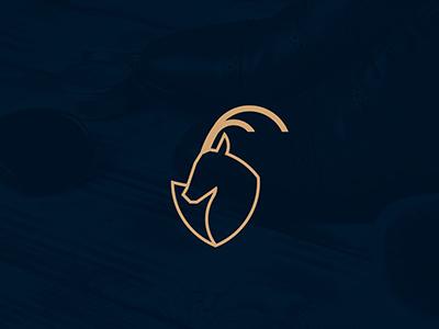 Brothers Killombo Logo angola africa antelope shoemaker animal impala mark identity logo