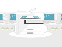 Printer Security Infographic Header