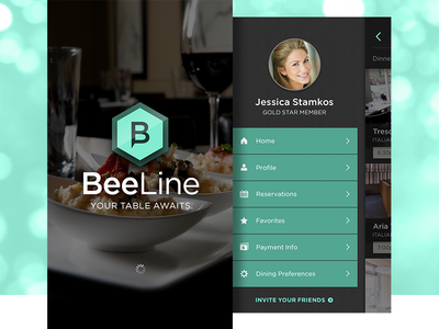 BeeLine - iPhone UI