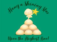 """Hang a shining star..."""