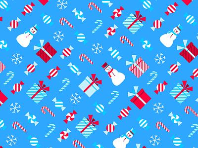 Merry Christmas! flat creative character art animation app collage web design ui graphic design pattern illustrator design branding icon illustration vector logo color