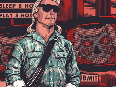 Submit movies sci-fi poster horror alien roddy pipper john carpenter they live