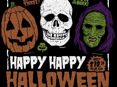 Halloween III illustration movie horror silver shamrock season of the witch halloween 3 halloween