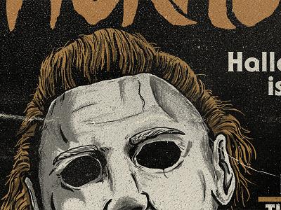 Michael horror magazine vintage halloween michael