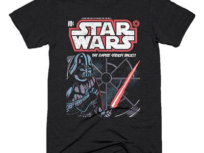 The Empire lightsaber illustration comic darth vader star wars
