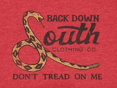 Don't Tread vintage snake dont tread on me south