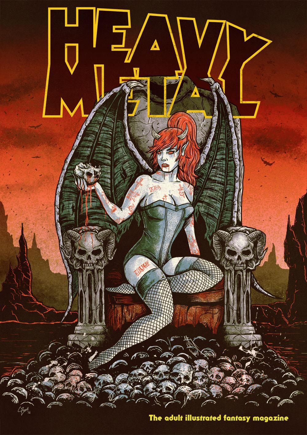 Heavymetal attach