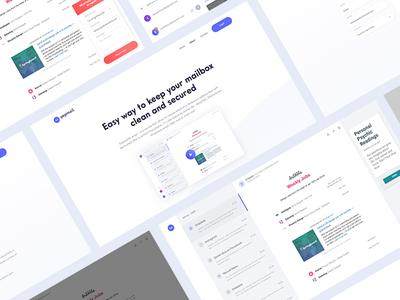 Stefan Popadic / Projects / Yepmail - Throw Away Mail   Dribbble