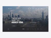 Lilium - Homepage Prototype