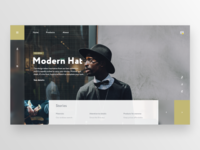 Hat Shop Website