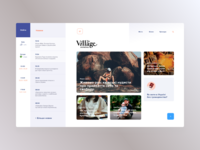 The Village Alternative Starting Page Concept