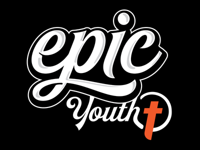 Epic Youth (on black)