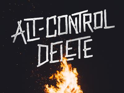 Alt-Control Delete