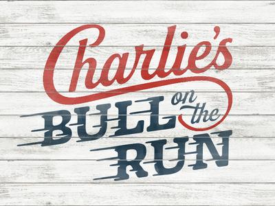 Charlie's Bull on the Run