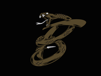 BF Snake Monogram