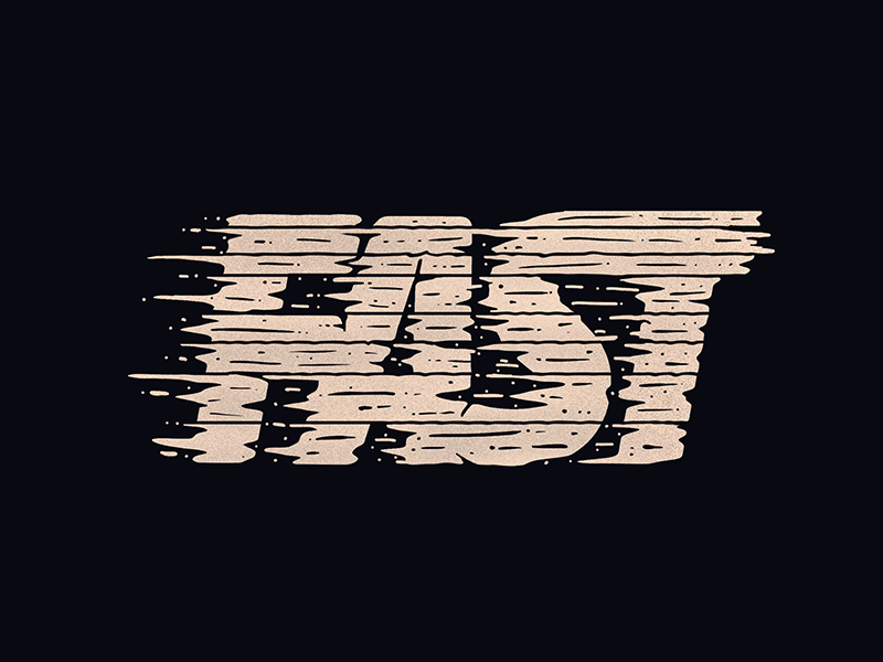 Fast movement fast lettering procreate typography hand drawn type handlettering