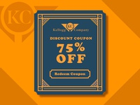DailyUI #061 - Redeem Coupon