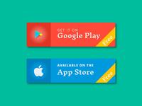 DailyUI #074 - Download App