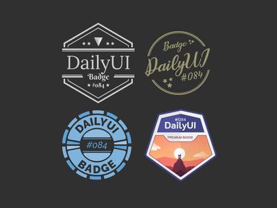 DailyUI #084 - Badge