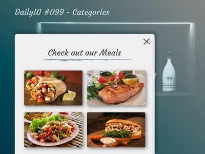 DailyUI #099 - Categories