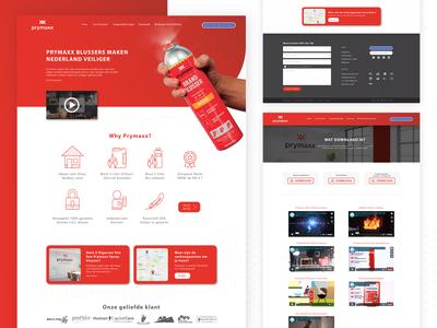 Prymax Website