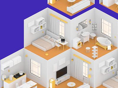 smart home smarthome 3d