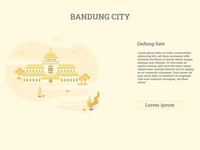 Gedung Sate - Bandung City