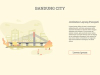 Bandung City - Indonesia , Jembatan Layang Pasupati