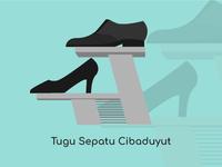 Bandung City Vector Tugu Sepatu Cibaduyut