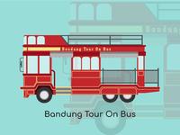 Bandung City Vector Bandung Tour On Bus
