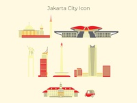 Jakarta City Icon
