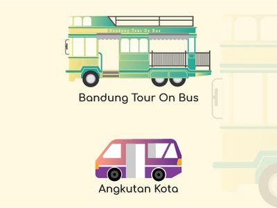 Bandung City of Indonesia Icon