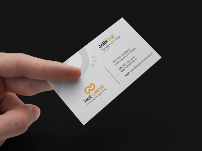 Simple Professional Business Card 02