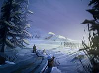 Norway game art lightroom landscape digital photoshop concept art sun illustration digital illustration wacom environment concept