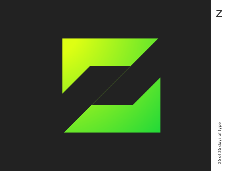 36 days | Z 36dayoftype lettering typogaphy logo typo minimalism qurle design