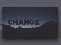 LNT | Let's Change