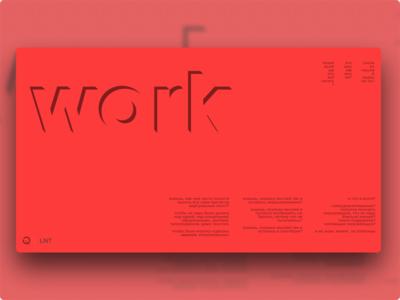LNT | Work