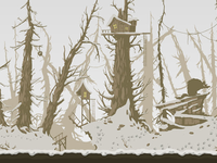 Background for Groundhog D-Day game