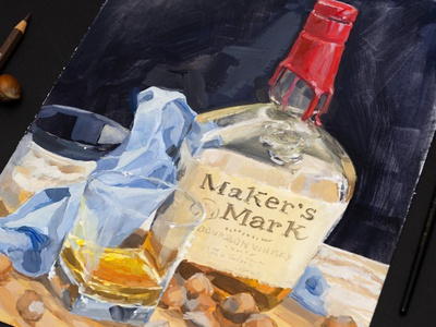 Whiskey/Glass small still life gouache painting prop design props traditional drawing traditional illustration traditional art paint concept art conceptual still life stilllife illustration art drawingart drawing draw painting gouache illustration artist artwork art