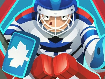Icon 12 - Toronto hockey player isometric item alisa bingo game art hockey player toronto concept art pykodelbi anna ivanova nikita oscolcov icon