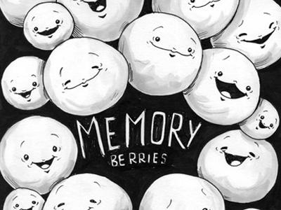 Member Berries, Member?! memberme drawing art print cartoon cute funny funart illustration member memory member berries