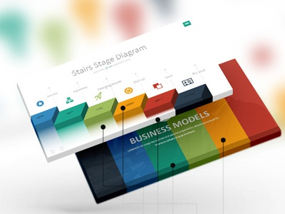 ever - multipurpose presentation templategraphic assets - dribbble, Presentation templates