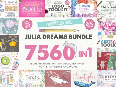 7560 in 1 - GRAPHIC BUNDLE