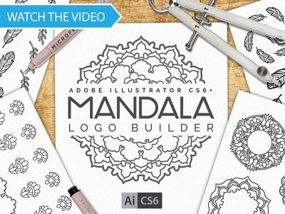 Mandala Logo Creator Kit CS6+