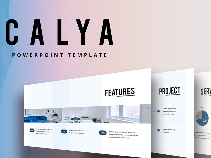 CALYA Powerpoint Template By Graphic Assets Dribbble Dribbble