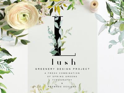 LUSH - Greenery Art Project