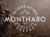 Montharo Typeface + Extras ( FREE Download )
