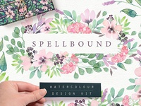 Spellbound Watercolour Design Kit